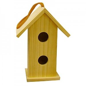 Paint your own birdhouse