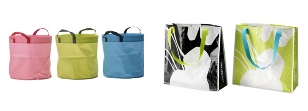 Garden & Beach Bags, $2.49 and $1.49 each