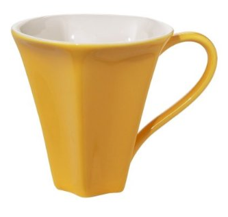 Star mug, side view