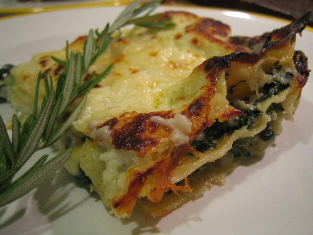 Cook's Illustrated #67 Spinach Lasagna | MARTHAANDTOM