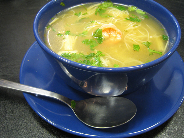 Thai Hot And Sour Soup Recipe — Dishmaps
