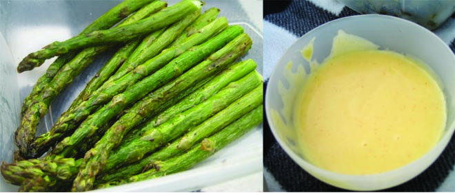 Life doesn't get much better than asparagus and mayonaisse