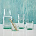 West Elm Recycled Glass Drinkware