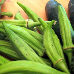 These okra are no jokra. FAFA