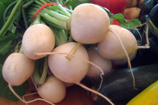 Salad Turnips!