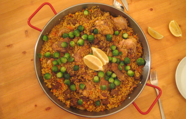 Fall Paella