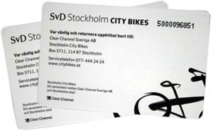 city bikes cards