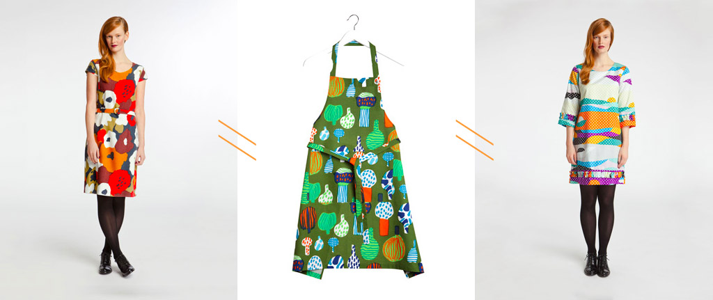 Marimekko Fall 2012 Dresses and Apron