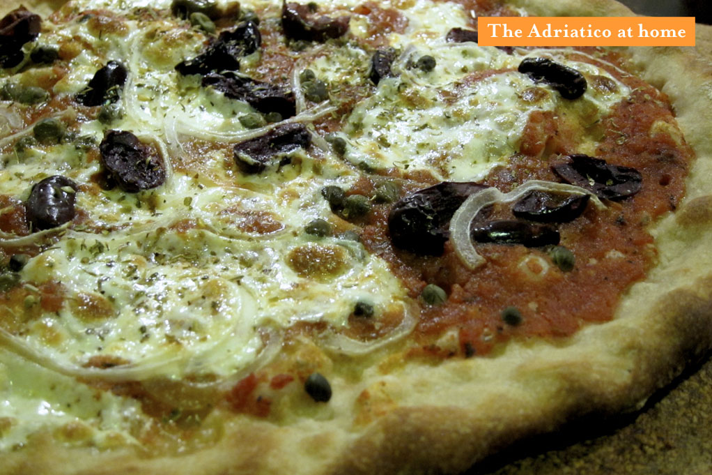 Punch's Adriatico Pizza recreated at home