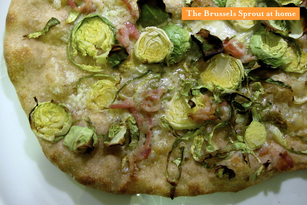 Motorino's Brussels Sprout Pizza recreated at home