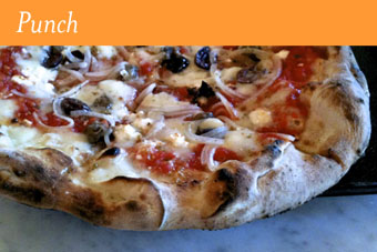 The Adriatico Pizza at Punch Pizza in Minneapolis