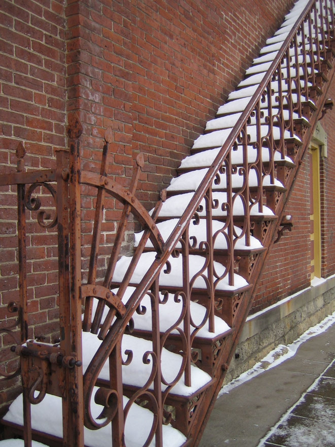 Stairway, Red Wing, MN