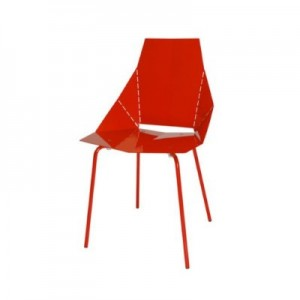 Blu Dot chair in Red