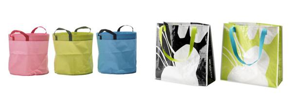 Garden & Beach Bags, $2.49 and $1.49 each
