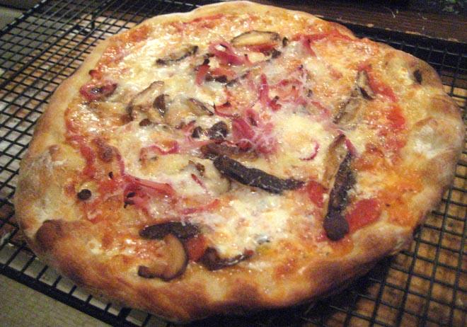 Ham, Mushroom, Taleggio