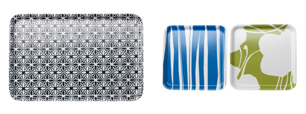 Solig trays in various colors + sizes, $1.49—$8.99