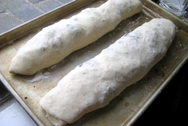 What does rolled dough look like, Tom?