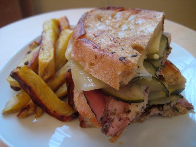 It's a Cuban sandwich
