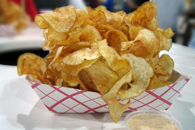 Wacky Spiral Chips