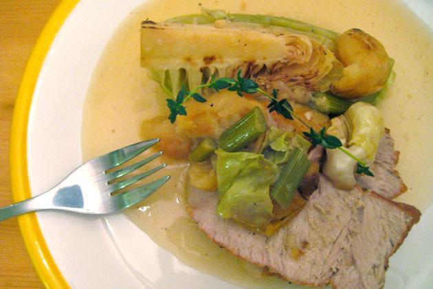 Pork on a Plate
