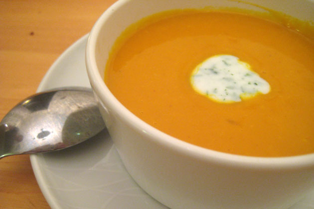 OH YOU CAN MAKE SQUASH SOUP? WOW
