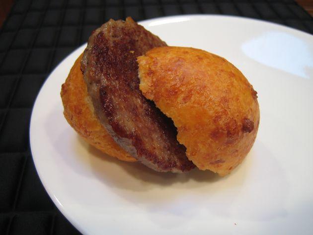 Sausage & Buñuelo Sandwich