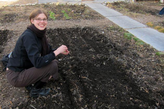 Elise in the Garden