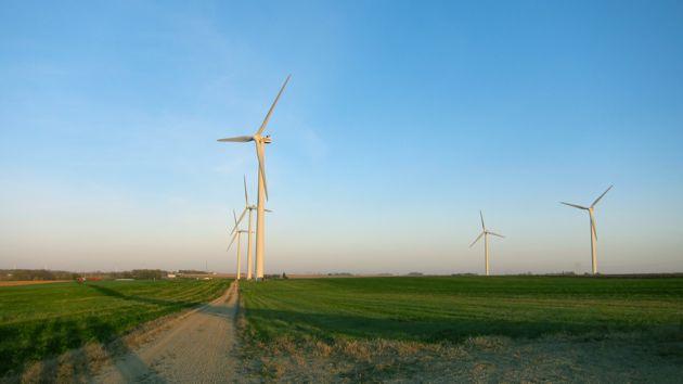 Adams, Minnesota Wind Farm