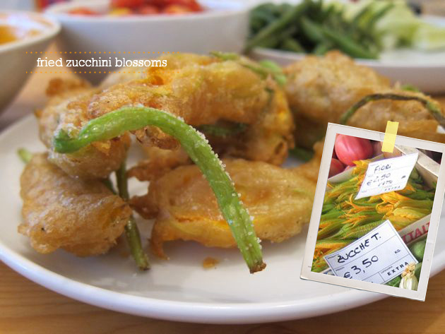 fried zucchini flower