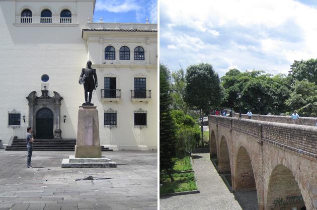 General José María Obando, Popayán