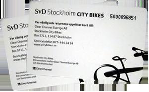 city bikes cards