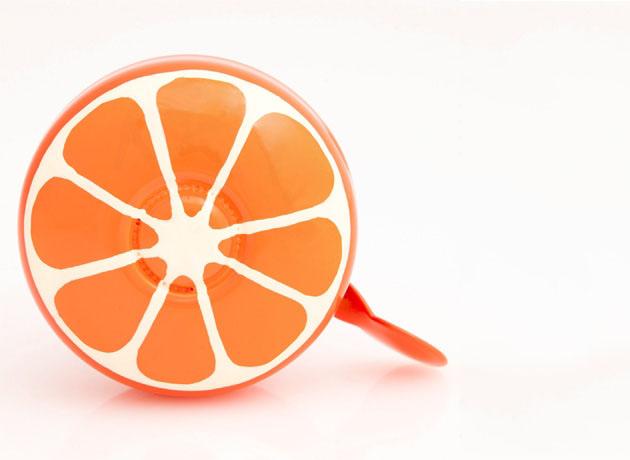 orange bike bell