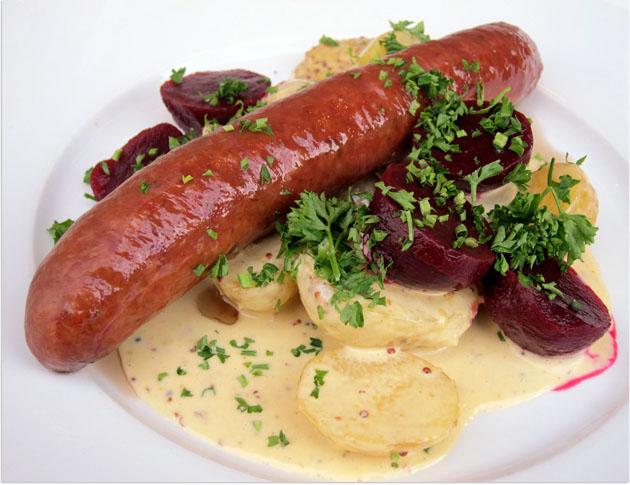 sausage at Rolf's Kök