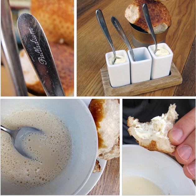 bread + soup at Rolf's Kök