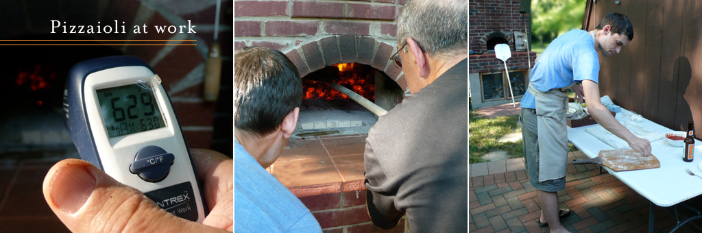 Pizzaioli at work